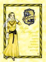 COLOR HUFFLEPUFF by shyangell