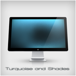 Turquoise and Shades by Pulicoti