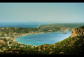 The Island From Above by Beezqp