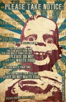 Please Do Not Waste Food V3 by misfitmalice
