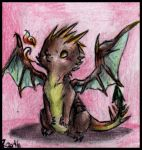 Baby hybrid dragon 1 by FuriarossaAndMimma