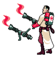 TF2: Medic by UltraBananaBuddy