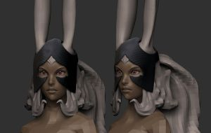 Fran_WIP 4 - Quick Sculpt by HazardousArts