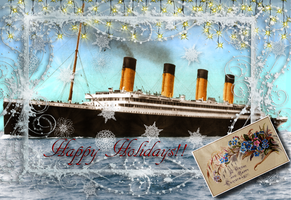 Merry Christmas from the White Star Line! by RMS-OLYMPIC