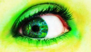 She Sees Green by Golly-Gosh