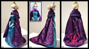 ooak coronation elsa's cape. by verirrtesIrrlicht