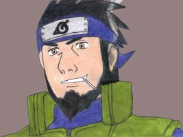 Asuma Sarutobi by fifthknown