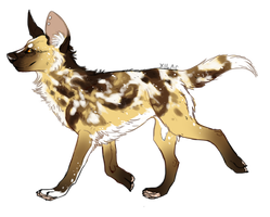 [CLOSED] African Wild Dog - DAid by Xilacs