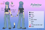 Palmina - Reference sheet by Val-Krayon