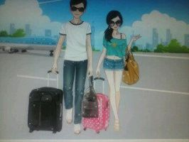 Matt and Valary: Going On Vacation by shannybabe123