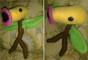 Bellsprout Plushie by Sarah-Strazberry