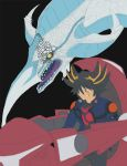 Yusei and Stardust WIP 2 by SombraStudio