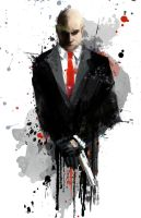 Agent 47 by j2Artist