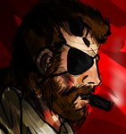 Metal Gear: Big Boss/Punished Snake by AkariMMS