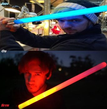 Jedi or Sith- Mark and Jack Lightsaber Edit by Linklove93