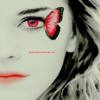 Butterfly Emma Watson by JBIsMyWorld