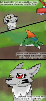 The Lost Crystals: Page 3 by TheArtsyDigimon