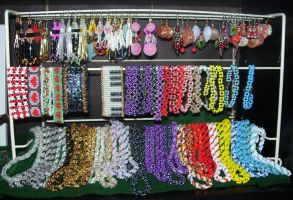 various beaded jewelry by ladytech