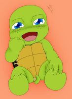 Baby Mikey by KuramaLoverBunny
