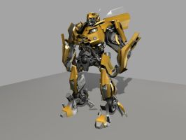 Bumblebee w - texture WIP by dd2005