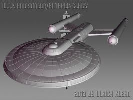 W.I.P. ANDROMEDA/ANTARES-CLASS ISO-004-A by ulimann644