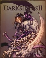 Darksiders II Death (Color) by jamesabels