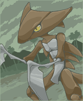 Kabutops by HedgehogBeeblebrox
