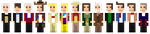 The Thirteen Doctors (In Sprite Form) by NitroBlaster96