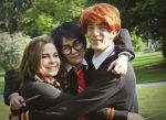 Golden trio by SaaraZ
