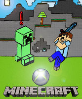 Minecraft 360 Poster by DAFORCEFilms