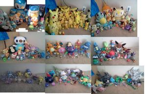 My Pokemon Collection 2012 September by Dragonitegirl