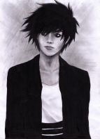 L Lawliet In Real Life [Death Note] by Swordheart-san