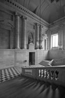 Palace of Versailles BW by DanielleMiner