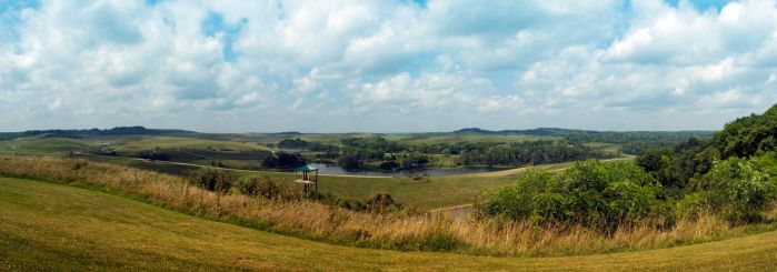 The Wilds Panorama by robertllynch