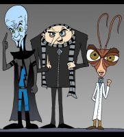 A Few Toon Minds by Lordwormm