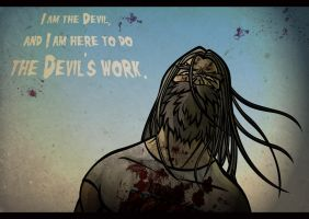 otis from devils rejects by newjackal7