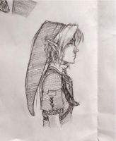 Link sketch by SailorSquall
