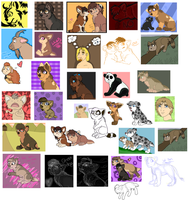 Spam Dump 2008 by squishy-paws