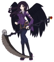 Thanatos's new outfit by Nokuss