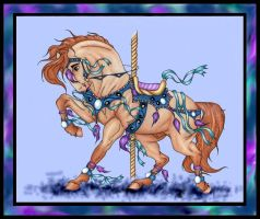 Alonso Carousel Horse Entry by apollo22
