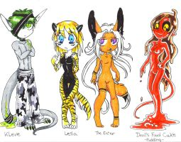 Unusual Adoptables  *END* by vippy