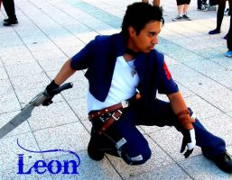 Squall Leon cosplay 2011 by daggert6
