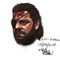 Snake - Metal Gear Solid V: The Phantom Pain by MugenStorm2ndComing