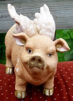 Flying Pig 3 by Penny-Stock