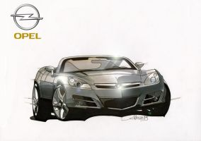 Opel GT by Frenchtouch29