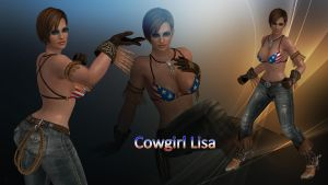 Cowgirl Lisa by DragonLord720