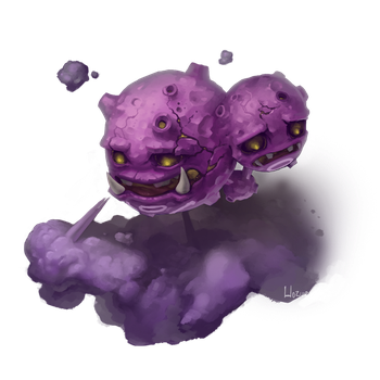 Weezing used Smog! by Hozure
