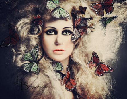 The Butterfly Lady by FairieGoodMother