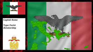 Facist Italy (mapping) by DimLordofFox