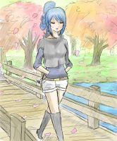 Juvia Loxar-casual by TimTam13